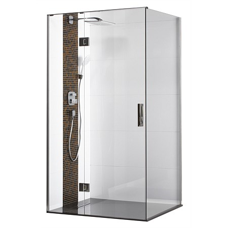 Atlantis Ebony and Ivory 1200mm Shower Enclosure