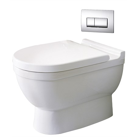 Duravit Starck 3 Floor Mounted Toilet Suite