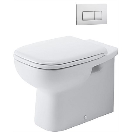 Duravit D-Code Floor Mounted Toilet Suite