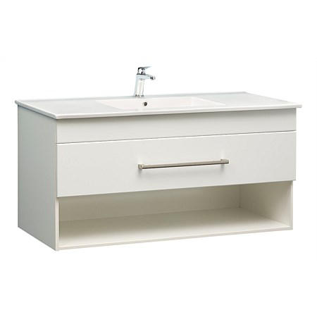 Clearlite Cashmere 1200mm Open Drawer Wall-Hung Vanity
