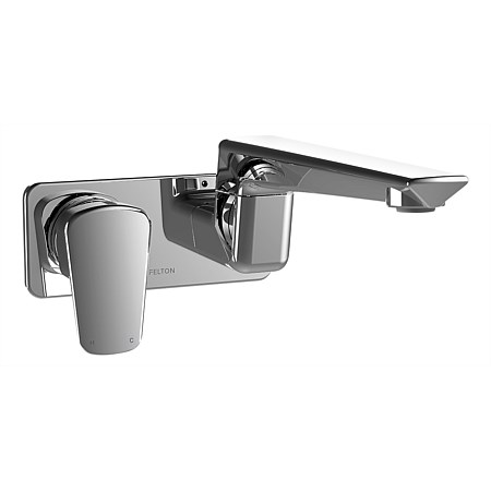 Felton Axiss Wall Mounted Swivel Basin/Bath Mixer