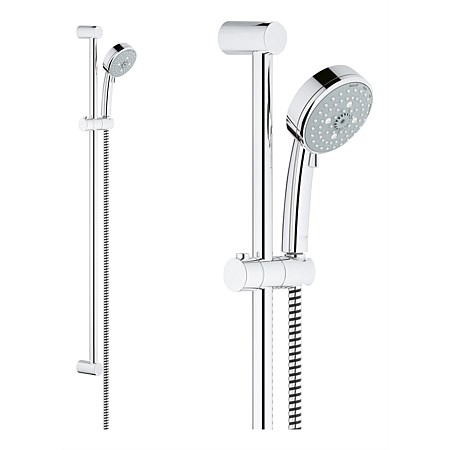 Grohe Tempesta Cosmo 100 Slide Shower With 4 Function Handpiece