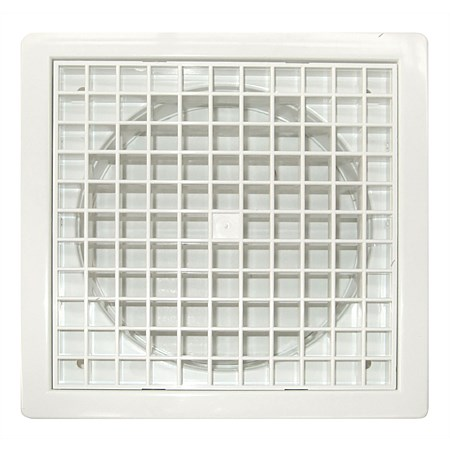Manrose Fixed Eggcrate Grille