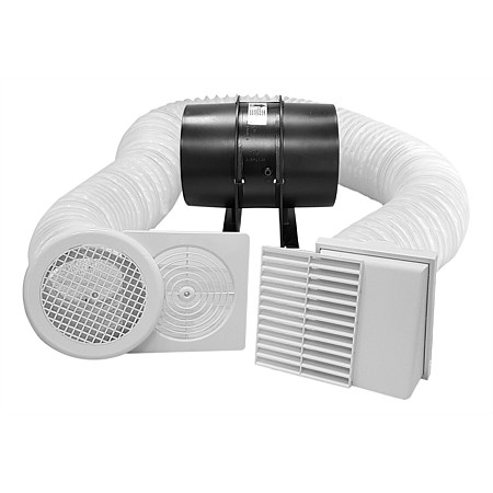 Manrose MANROSE® Pro-Series Low Profile Shower Fan Kit