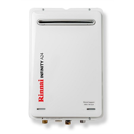 Rinnai Infinity® 24L NG A Series Continuous Flow Water Heater