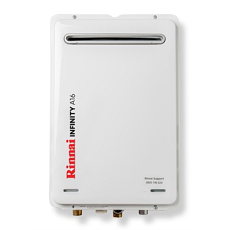 Rinnai Infinity® 16L LPG A Series Continuous Flow Water Heater