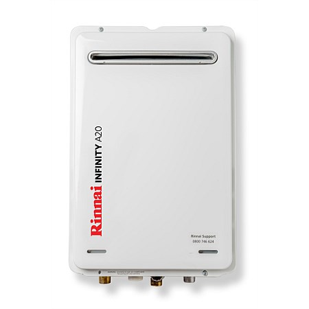 Rinnai Infinity® 20L LPG A Series Continuous Flow Water Heater