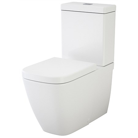Caroma Cube Wall-Faced Toilet Suite