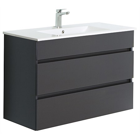 Clearlite Pinnacle Double Drawer 1200mm Wall-Hung Vanity