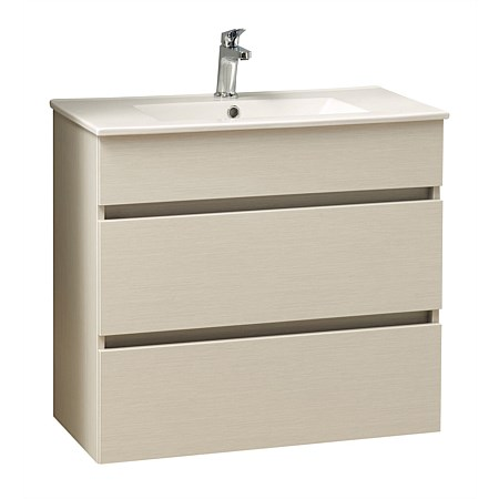 Clearlite Pinnacle Slim 900mm Double Drawer Vanity