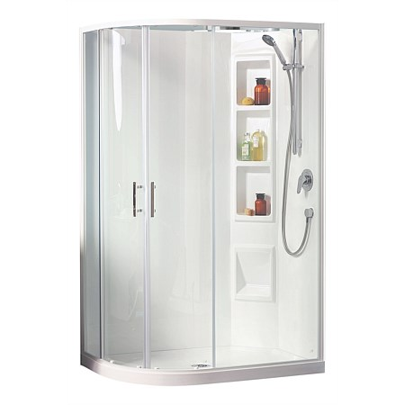 Clearlite Cezanne 1200mm Round Shower Enclosure