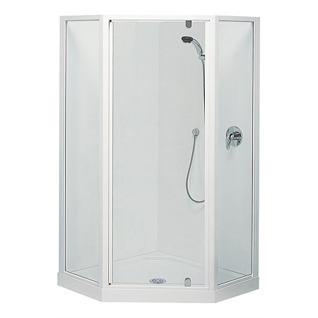 Clearlite Sierra 1000mm Corner Shower Enclosure
