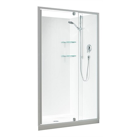 Clearlite Sierra 1200mm 3 Sided Rectangle Shower Enclosure