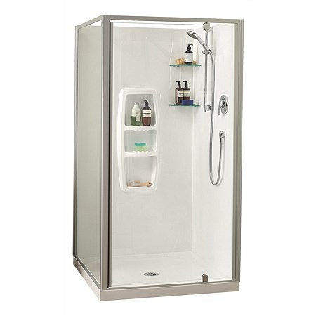 Clearlite Sierra 1000mm 2 Sided Square Shower Enclosure