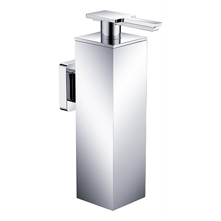 Tranquillity March Square Soap Dispenser Wall Mounted
