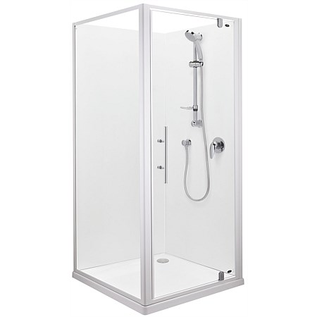 Englefield Valencia 1000mm Square Corner Shower Enclosure