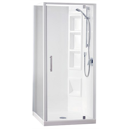 Clearlite Induro Tall 1000mm 2 Sided Shower Enclosure