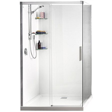 Athena Motio 1200mm Sliding Door Shower