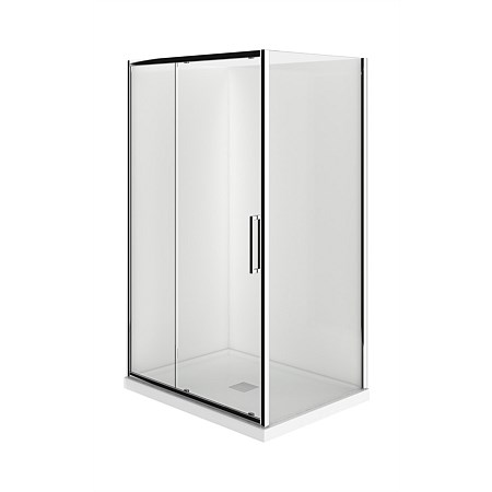 LeVivi 1200mm 2 sided LH Moulded Shower Enclosure