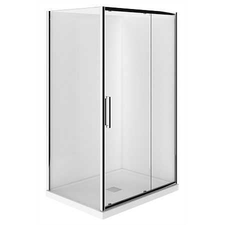 LeVivi 1200mm 2 sided RH Moulded Shower Enclosure