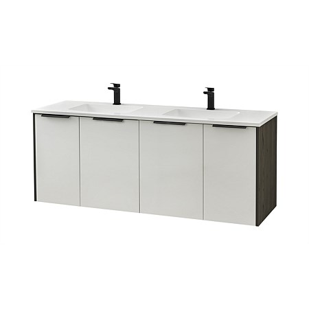 Clearlite Nikau 1500mm Double Bowl Vanity