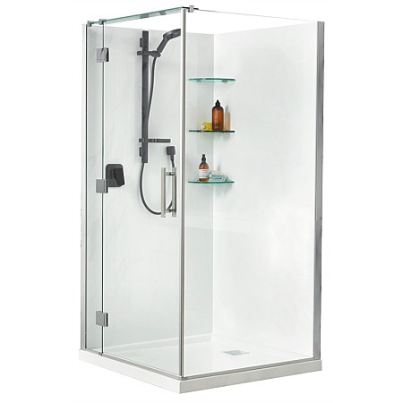 Athena Lifestyle 1000mm  2 Sided Shower Enclosure