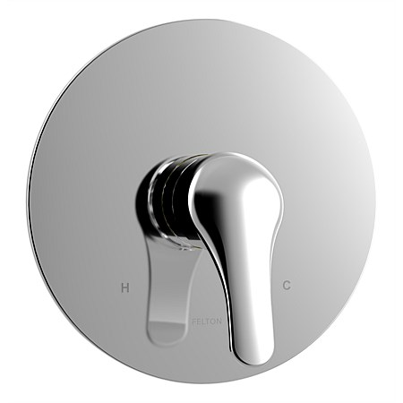Felton Reflex Shower Mixer With 150mm Faceplate