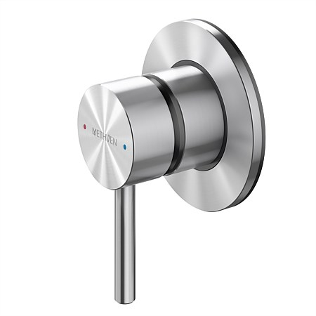 Methven Turoa Shower Mixer with Small Faceplate