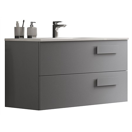 Inda Street 1000mm Wall-Hung Vanity