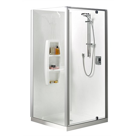 Clearlite Sierra 1000mm 2 Sided Shower Enclosure