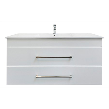 Clearlite Cashmere 1200mm 2 Drawer Vanity