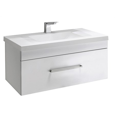 Clearlite Norfolk 900mm Wall-Hung Vanity