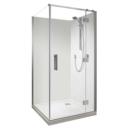 Athena Allora1000mm 2 Sided Shower Enclosure