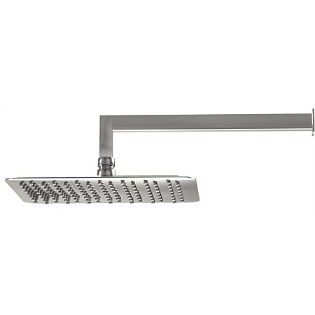 LeVivi 250 Square Wall Mounted Rain Shower with 350mm Arm