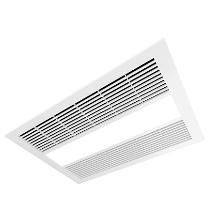 Manrose Milan Bathroom LED Fan Heater