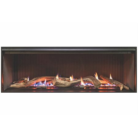 Linear 1000 Single Sided NG Gas Fire