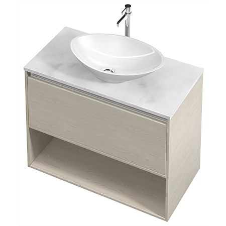 St Michel City Cherry Pie 900mm Wall-Hung Vanity
