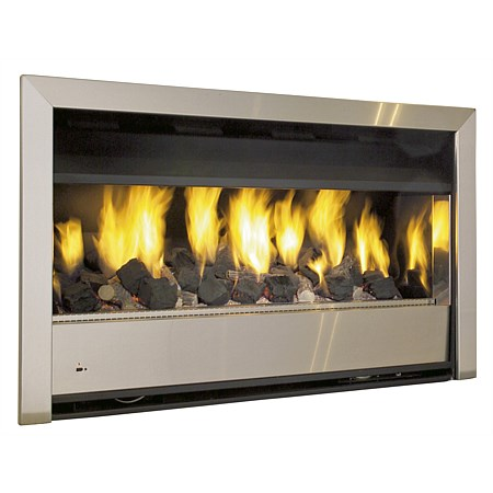 Real Fires Minimal 1000mm LPG Inbuilt Gas Fire