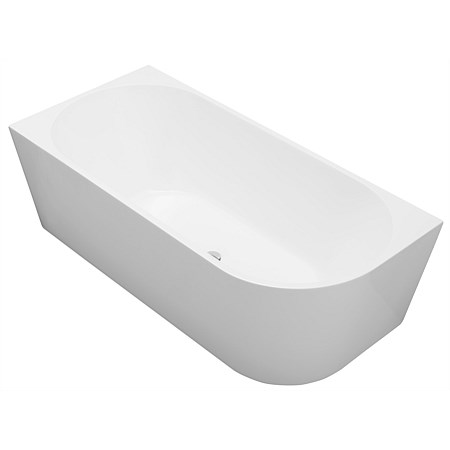 Newtech Newark 1700mm Back-To-Wall Bath Left-hand