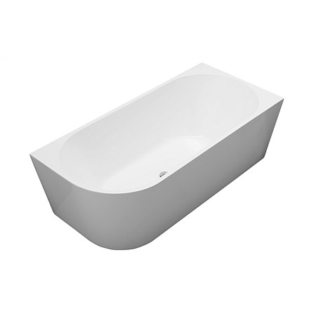 Newtech Newark 1700mm Back-To-Wall Bath Right-hand