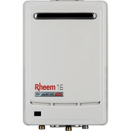 Rheem Gas 16L LPG Continuous Flow Water Heater