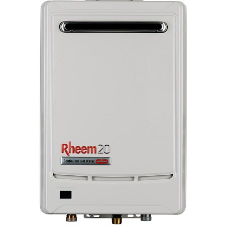 Rheem Gas 20L NG Continuous Flow Water Heater