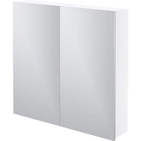 LeVivi Capri 750mm Mirror Cabinet White