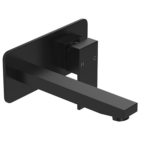 LeVivi Elba Wall Basin Mixer Black