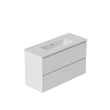 LeVivi Surrey Slim 900mm Wall-hung Vanity