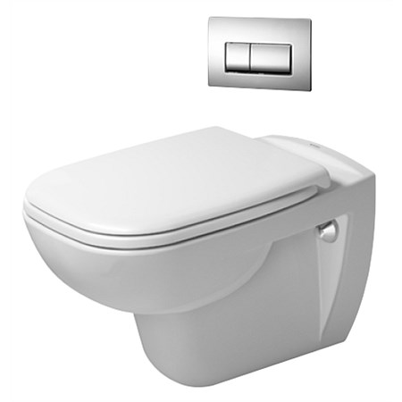 Duravit D-Code Wall-Hung Toilet Suite