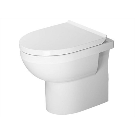 Duravit Durastyle Basic Rimless Floor-Mount Toilet Suite