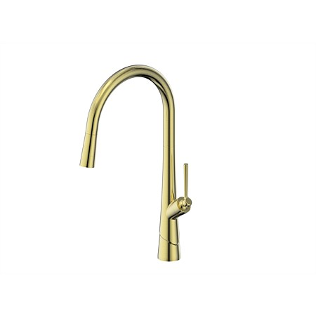 Greens Lustro Sink Mixer Brushed Brass