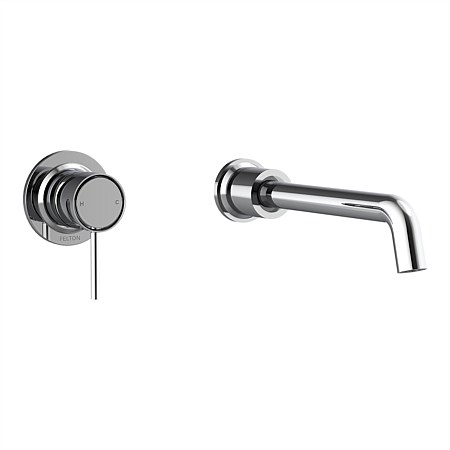 Tate Wall Mounted Basin/Bath Mixer Chrome