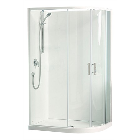 Clearlite Cezanne 800mm Round Shower Enclosure